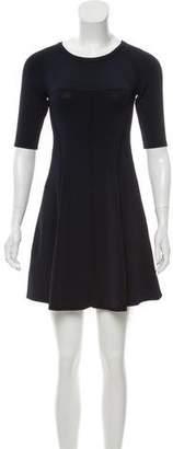 A.L.C. Mini Knit A-Line Dress