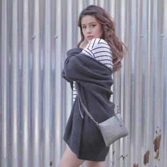 Aura Que Fairtrade Med Faux Leather Purse With Detachable Strap d61e0e9d6f475
