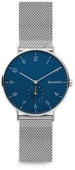 Skagen Aaren Stainless Steel Mesh Bracelet Watch