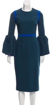 Roksanda Long Sleeve Midi Dress