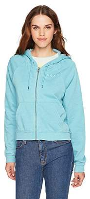 Roxy Women's True to Life Zip up Sweatshirt