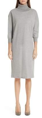 Max Mara Freda Wool & Cotton Dress