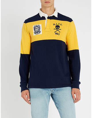 Polo Ralph Lauren Rugby-inspired knitted polo shirt