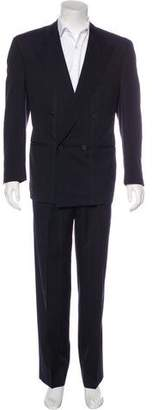 Gianni Versace Double-Breasted Wool Suit