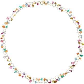 Mallary Marks Circus Briolette 18K Gold Multi-Stone Necklace