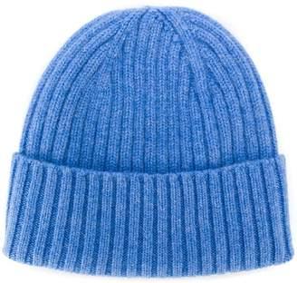 Dell'oglio ribbed-knit cashmere hat