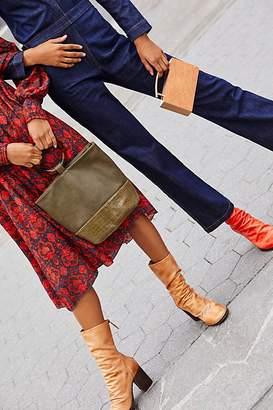 Fp Collection Elle Block Heel Boot