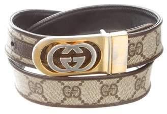 9857943f426 Gucci Vintage GG Supreme Belt