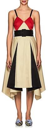Koche Women's Cotton Belted Flared Dress