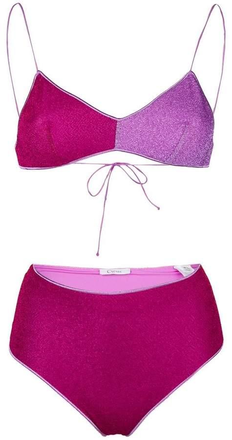 Oseree high rise bikini set