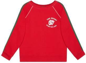 Gucci Spiritismo cotton sweatshirt
