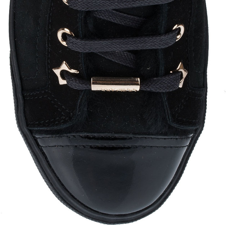 Jimmy Choo Destin shearling sneaker