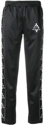 Marcelo Burlon County of Milan Kappa print track pants
