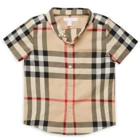 Burberry Baby's& Toddler's Fred Plaid Shirt