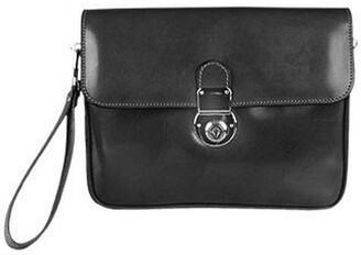 L.a.p.a. Men's Genuine Leather Clutch