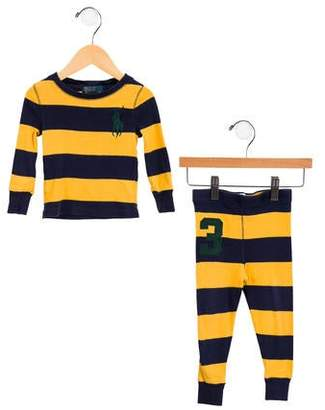 Polo Ralph Lauren Boys' Striped Two-Piece Set
