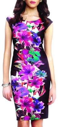 Frank Lyman Tropical Flower Dress