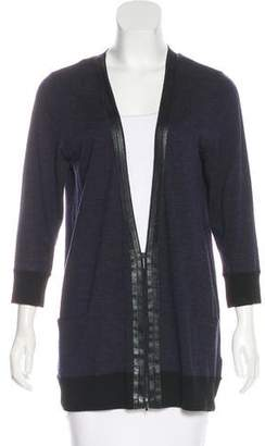 Akris Punto Zip-Up Wool Cardigan