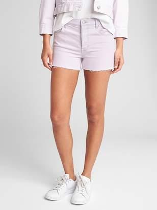 "Gap High Rise 3"" Denim Shorts in Color"