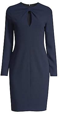 Black Halo Women's Aerin Keyhole Sheath Dress