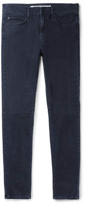 McQ Strummer Skinny-Fit Panelled Stretch-Denim Jeans