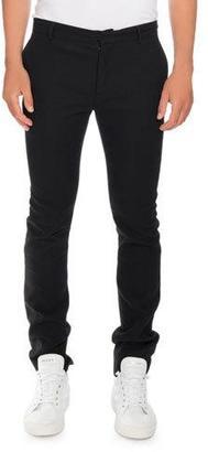 Balmain Slim Smoking Pants with Side Stripe, Black $995 thestylecure.com