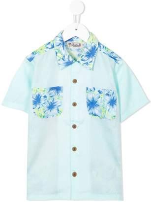 Mikihouse Miki House floral print shirt