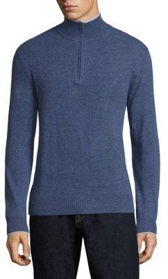 Polo Ralph LaurenPolo Ralph Lauren Cashmere Half-Zip Sweater