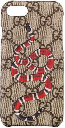 Gucci GG Supreme Snake iPhone 8 Case