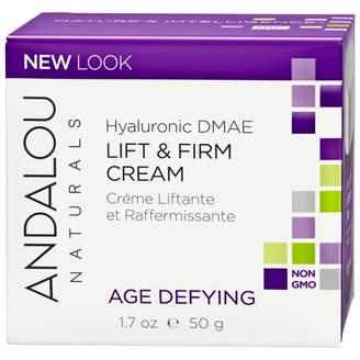 Andalou Naturals Age Defying Hyaluronic DMAE Lift & Firm Cream 50 g