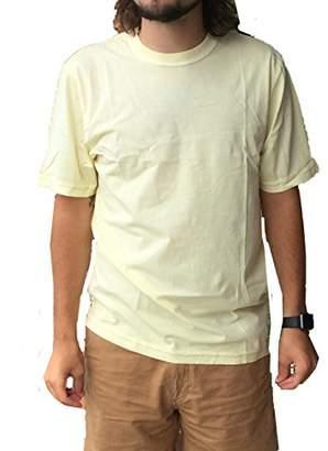 True Grit Men's Lightweight Secret Wash Short Sleeve Cotton Crew Neck Tee Shirt