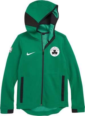 NBA LOGO Boston Celtics Showtime Dri-FIT Zip Hoodie