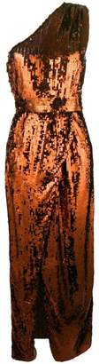 Elisabetta Franchi sequin asymmetrical dress
