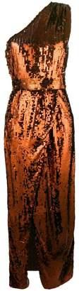 Elisabetta Franchi sequin asymmetrical dress