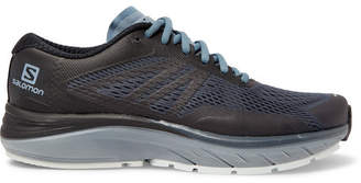 Salomon Sonic Ra Max 2 Mesh And Rubber Running Sneakers - Gray