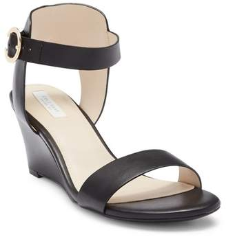 Cole Haan Rosalind Leather Wedge Sandal