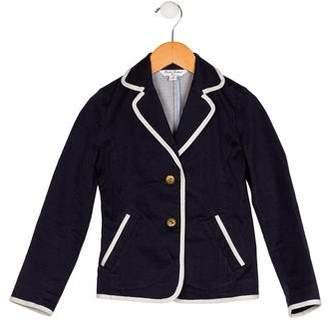 Brooks Brothers Boys' Notch-Lapel Button-Up Blazer