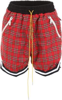 Rhude Check Bermuda Shorts