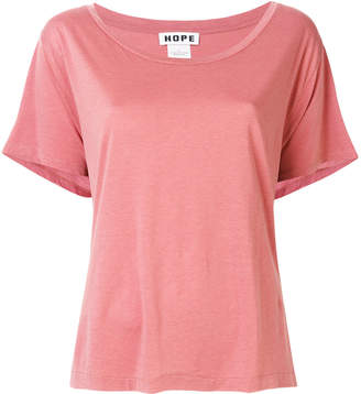 Hope loose fit wide neck T-shirt