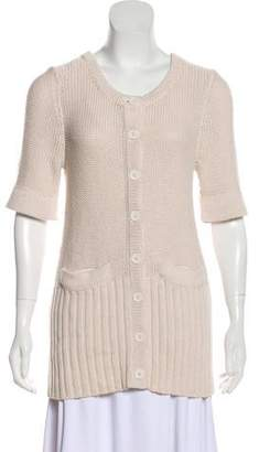 Marc by Marc Jacobs Wool Short Sleeve Cardigan