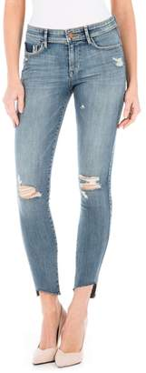 Fidelity Mila Ripped Ankle Skinny Jeans