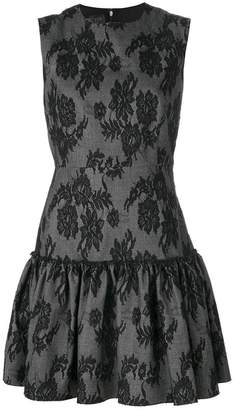 Giambattista Valli jacquard lace mini dress