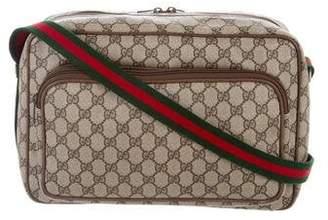 Gucci Vintage GG Plus Messenger Bag