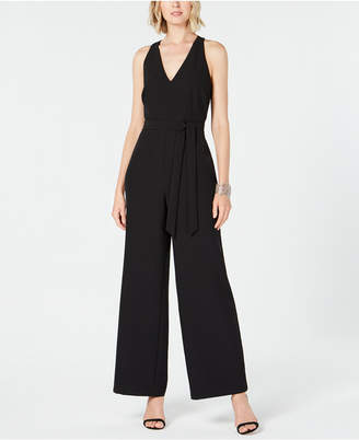 INC International Concepts I.n.c. Petite Wide-Leg Cutout Back Jumpsuit, Created for Macy's