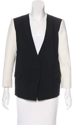 Tibi Structured Open-Front Blazer