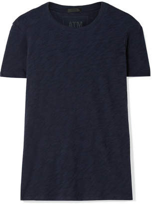 ATM Anthony Thomas Melillo Schoolboy Slub Cotton-jersey T-shirt - Navy