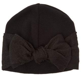Federica Moretti Wool Blend Beanie - Womens - Black