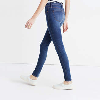 "9"" High-Rise Skinny Jeans in Polly Wash $128 thestylecure.com"