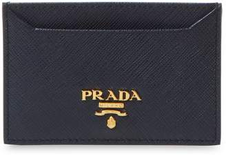 Prada Women's Saffiano Leather Card Holder