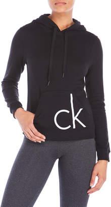 Calvin Klein Logo Fleece Hoodie